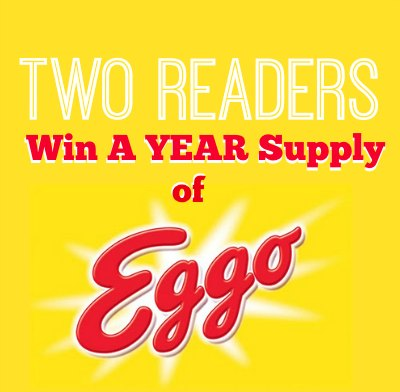 eggo giveaway IHP Giveaway Reminder   Year Supply Of Eggo Products For Two Readers (+ 60 Additional Prizes)