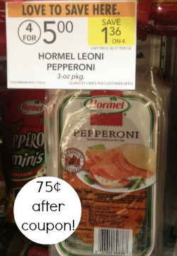 hormel coupon publix Great Deal On Hormel Pepperoni At Publix   Just 75¢ Per Pack!