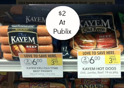 kayem Even More Unadvertised Publix Deals   The Happy Report Part II