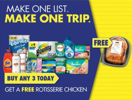pg chicken image Make One List Make One Trip Promo Returns   Love That Free Chicken (+ One Reader Wins $100 Publix Gift Card!)