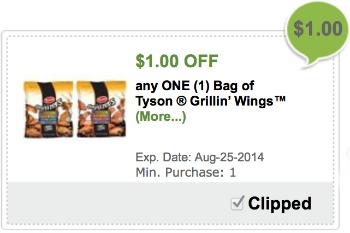 Grillin wings publix Load Your Tyson® Grillin' Wings™ Coupon   Simple & Delicious Wings Without A Ton Of Effort!