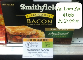 Smithfield New Smithfield Bacon Coupon For Our Publix Sales