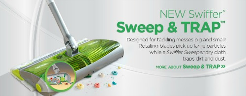 Sweep and trap  Coupon & Sale On The Swiffer Sweep & Trap