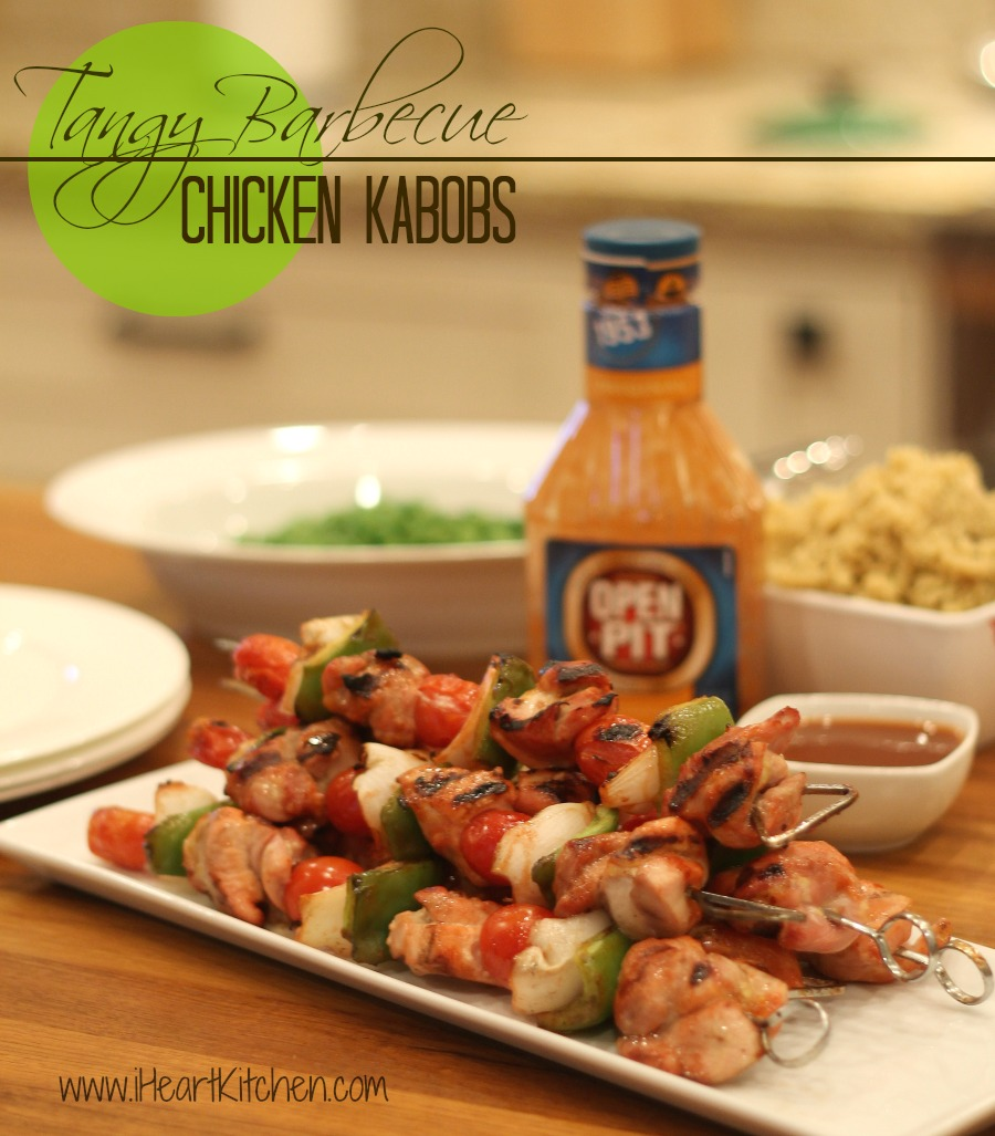 Tangy Barbecue Chicken Kabobs