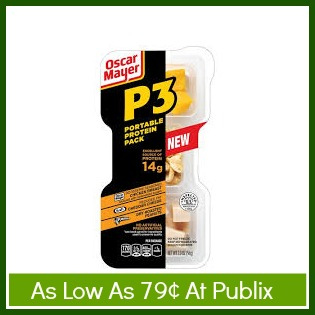 p3 Oscar Mayer P3 Portable Protein Packs As Low As 79¢ At Publix