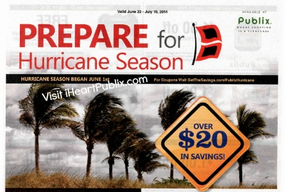 prepard Prepare For Hurricane Season Publix Coupon Available To Print