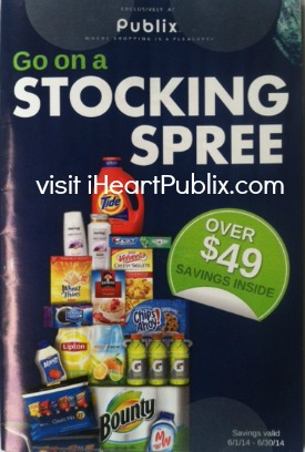 stocking spree publix June Stocking Spree Booklet   Publix Coupons