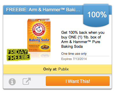 Arm Hammer Friday Freebie From Upromise: Free Arm & Hammer Baking Soda