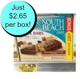 South Beach High Value South Beach Bars Coupons To Print