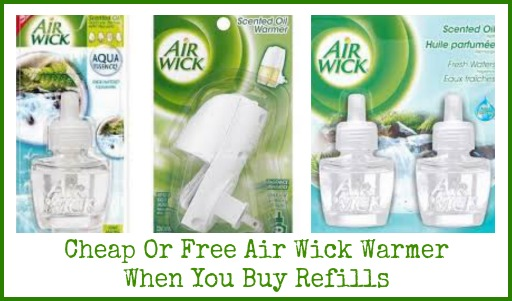 air wick New Air Wick Coupon   Free Warmers For Some