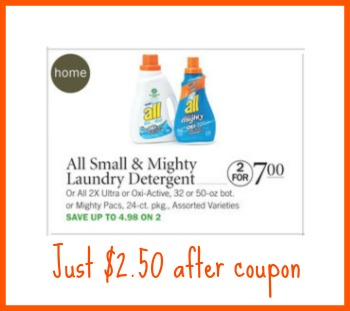 all detergent publix All Detergent Just $2.50 At Publix