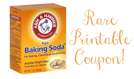 arm hammer1 Rare   Arm & Hammer Baking Soda Coupon!