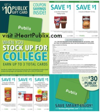 back to college publix
