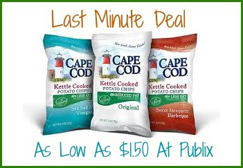 cape cod1 Last Minute Deal   Cape Cod Chips Just $1.50 For Some