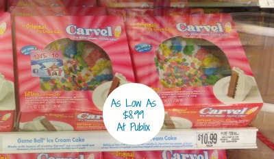 Publix Ice Cream Cake Coupon