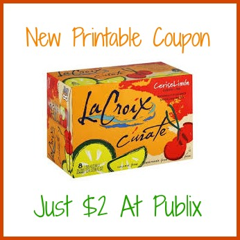 curate LaCroix Curate Buy One Get One Coupon + Publix Deal