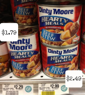 dinty New Dinty Moore Coupon + Publix Deals