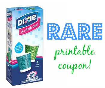 dixie cups coupon Paper Product Coupons   Including Rare Dixie Bath Cups Coupon!