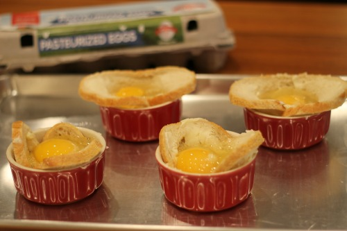 egg nest Baked Egg In A Nest Recipe + One Reader Wins A Years Worth Of Safest Choice™ Eggs & Prize Pack!
