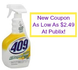 formula New Formula 409 Coupon And Publix Deal