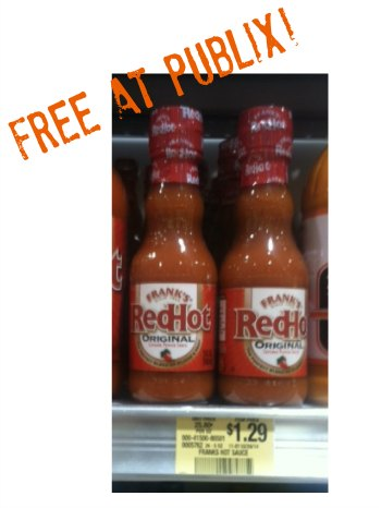 franks publix More Free & Cheap Franks RedHot Sauce At Publix