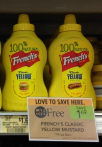 french mustard Frenchs Brown Mustard As Low As 4¢ At Publix!