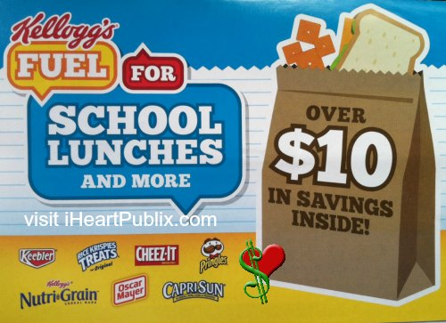 fuel for school lunches New Booklet   Kelloggs Fuel for School Lunches And More