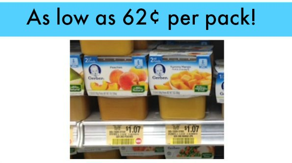 gerber publix 2 Gerber Coupons For Upcoming Publix Sale   Great Deals!