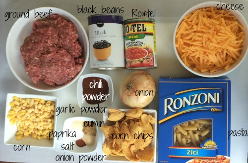 ingredients Taco Pasta Bake