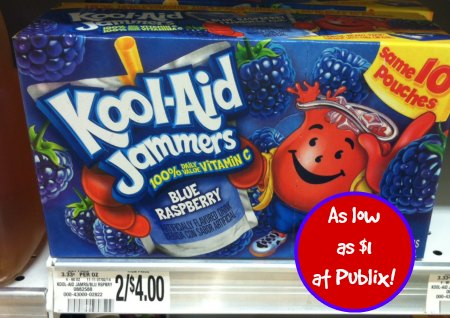jammers publix Kool Aid Jammers As Low As $1 Per Box At Publix!