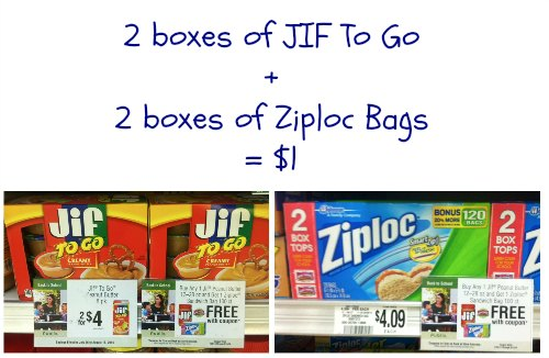 jif publix Fantastic Deal On Jif To Go & Ziploc Bags At Publix!
