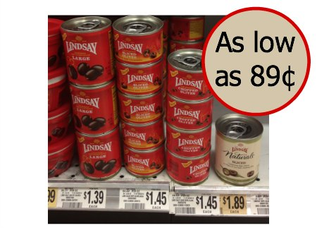 lindsay olives Lindsay Olives As Low AS 89¢ At Publix