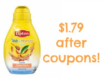 lipton tea honey Big Discount On Lipton Tea & Honey At Publix