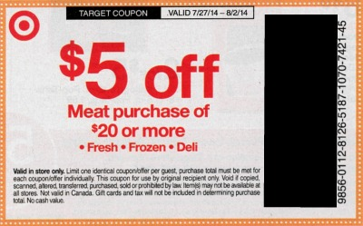 meat target Tons Of Upcoming Target Coupons   Including $5 Meat Coupon!