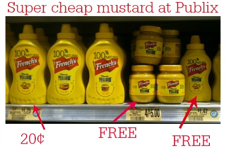 mustard publix Free & Cheap Frenchs Mustard At Publix