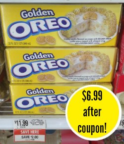 oreo 2 $5 Ice Cream Cake Coupon = $6.99 Cakes At Publix!