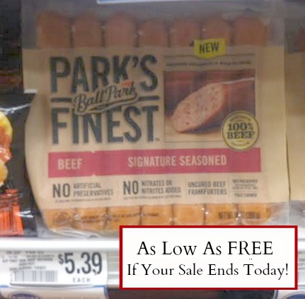 parks New ibotta Offers + Publix Deals   Parks Finest Hot Dogs Free For Some!