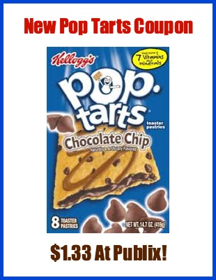 pop tart New Pop Tarts Coupon For Publix Sale
