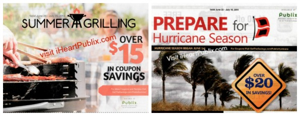 publix booklets Work Around To Print The Summer Grilling & Prepare For Hurricane Season Publix Coupons