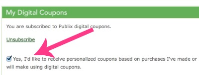 publix digital coupons Personalized Publix Digital Coupon Offers Possible   What Do You Think?