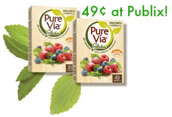pure via publix Pure Via Just 49¢ At Publix
