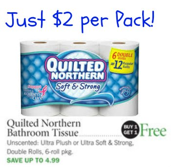 quilted northern publix Reminder   $2 Quilted Northern With BOGO & New Coupon!