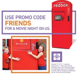 redbox friends Free Movie From Redbox (Valid Through 7/17)