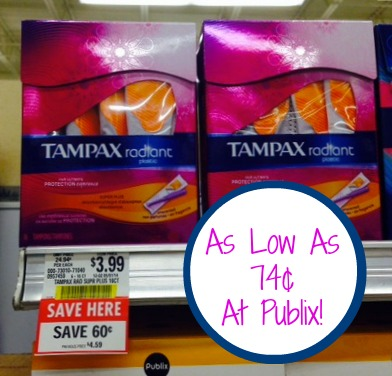 tampax Great Deals On Always And Tampax In Our Upcoming Publix Sale