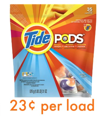 tide pods publix Tide Pods Just 23¢ Per Load At Publix