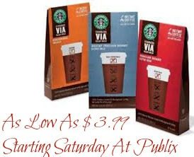 via Great Upcoming Deal On Starbucks VIA   As Low As $3.99