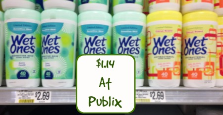 wet ones More Cheap Wet Ones At Publix!