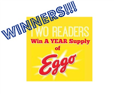winners eggo Eggo Winners Announced   All 62 Of Them!