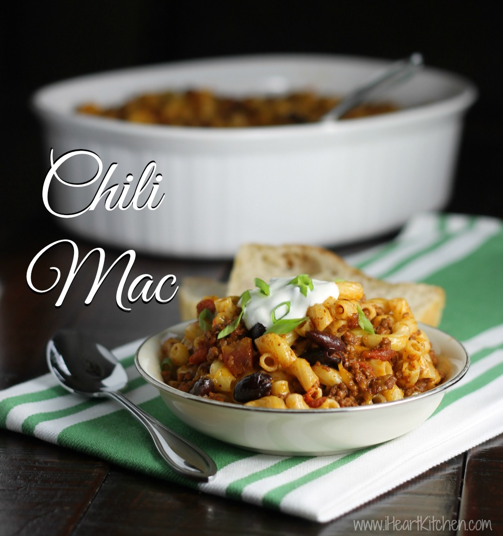 Chili Mac Chili Mac   Publix Menu Plan Recipe