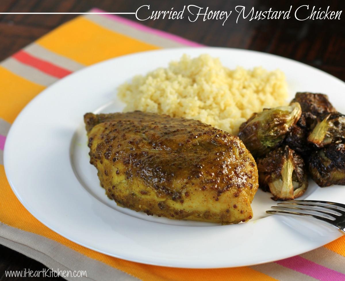 Curried Honey Mustard Chicken  Curried Honey Mustard Chicken